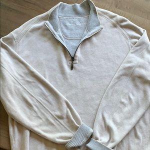 Men's Tommy Bahamas 3/4 zip  sweater